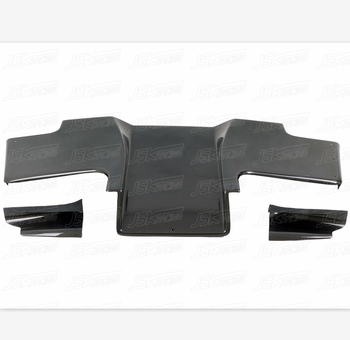 1993-1996 RE STYLE CARBON FIBER REAR DIFFUSER FOR MAZDA RX7 FD3S (3 PCS)