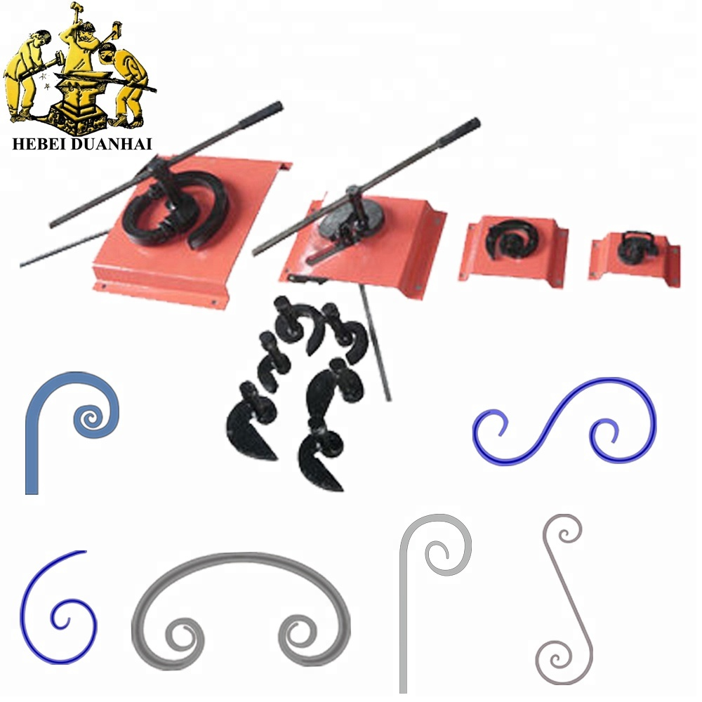 DH-SW10 Ornaments Iron Scroll Bender Manual Metal Craft Scroll Bending <strong>Tools</strong>