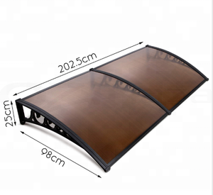 pc /polycarbonate awning canopy
