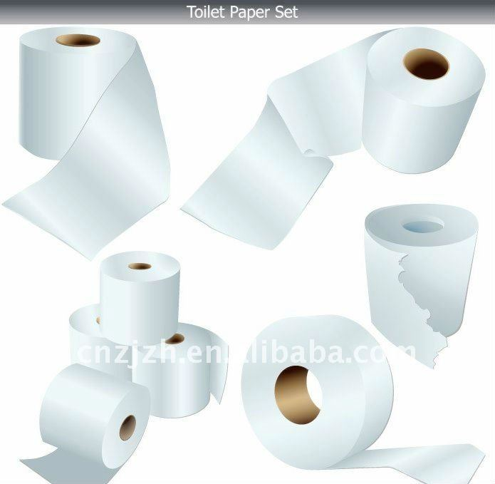 many kinds 100% virgin wood pulp toilet roll