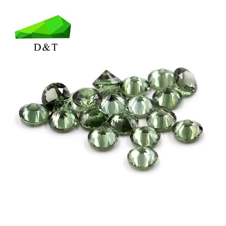 wholesale lab created high quality loose gemstone dark green 149# synthetic spinel