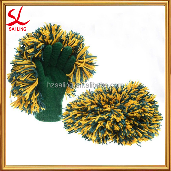 Outdoor Sports Cheer POM & Spirit Glove One Size Fits All Cheering Gloves