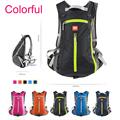 Cycling Backpack with Helmet Mesh Travel Luggage Bag Water resistant for Camping Hiking Holiday 5 Colors