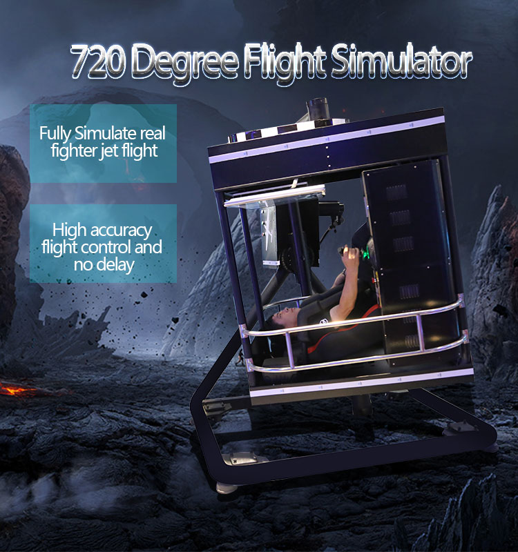 Thrilling Flight Simulator For Sale 720 Degrees Flight Simulator System -  Buy Flight Simulator,360 Degree Flight Simulator,Flight Simulator For Sale