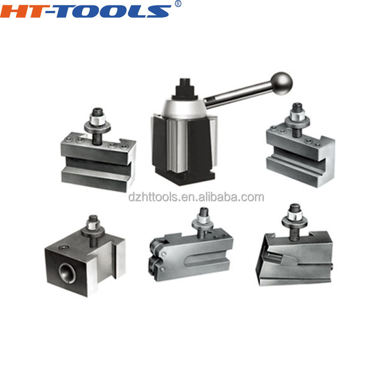 "250-301 Quick Change Tool Post Holder Tool Bit 1//2/"" to 3//4/"" Lathe Piston Type"