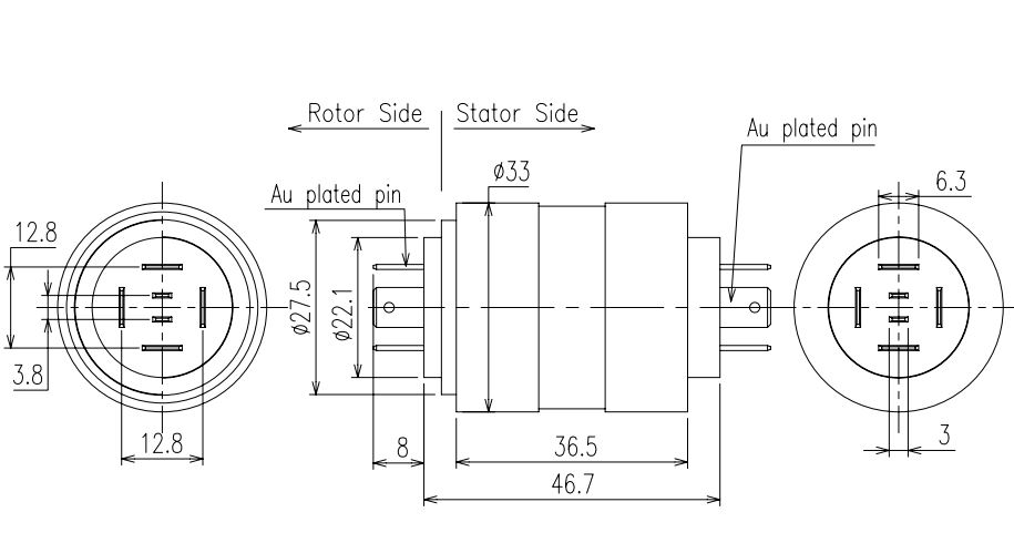Pin Connection Slip Ring