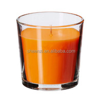 2017 Factory Price Customized Aromatherapy Glass Jar Candles/Scented Glass Candles Jar/Packing Scented Candle Wax