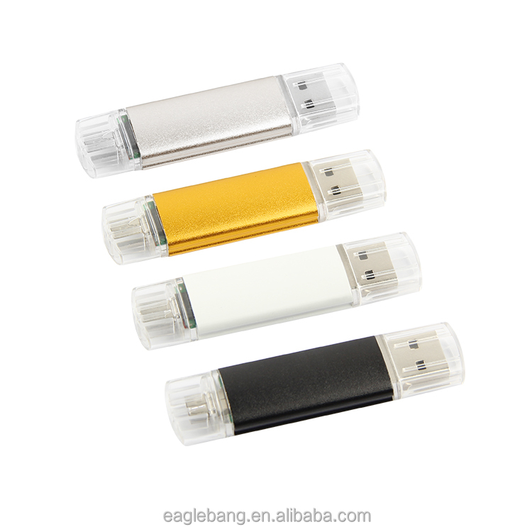 Micro USB 2.0 OTG USB On The Go Adapter untuk Android atau Tablet dengan Fungsi OTG Smartphone