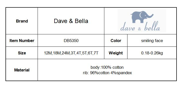 DB5350 dave bella autumn baby girls printed hoodies spring sweatshirt children coat girls hoodie kids coat new arrival