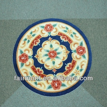 Iranian Silk Carpet Silk Round Rugs Silk And Gold Rugs 002