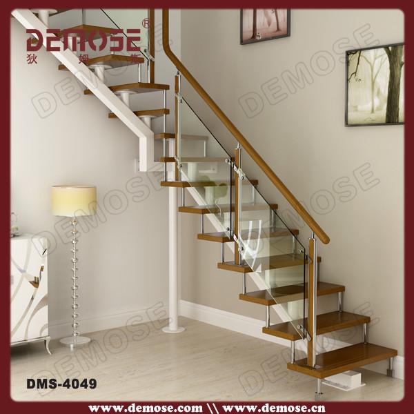 dise os de interiores escaleras de madera con barandas de