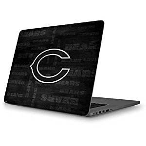 NFL Chicago Bears MacBook Pro 13 (2013-15 Retina Display) Skin - Chicago Bears Black & White Vinyl Decal Skin For Your MacBook Pro 13 (2013-15 Retina Display)