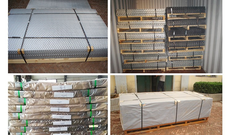 diamond stainless steel expanded metal mesh/hexagonal aluminum galvanized expanded metal mesh