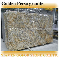 Manufacture Excellent Quality Natural golden persa granite slabs for countertops
