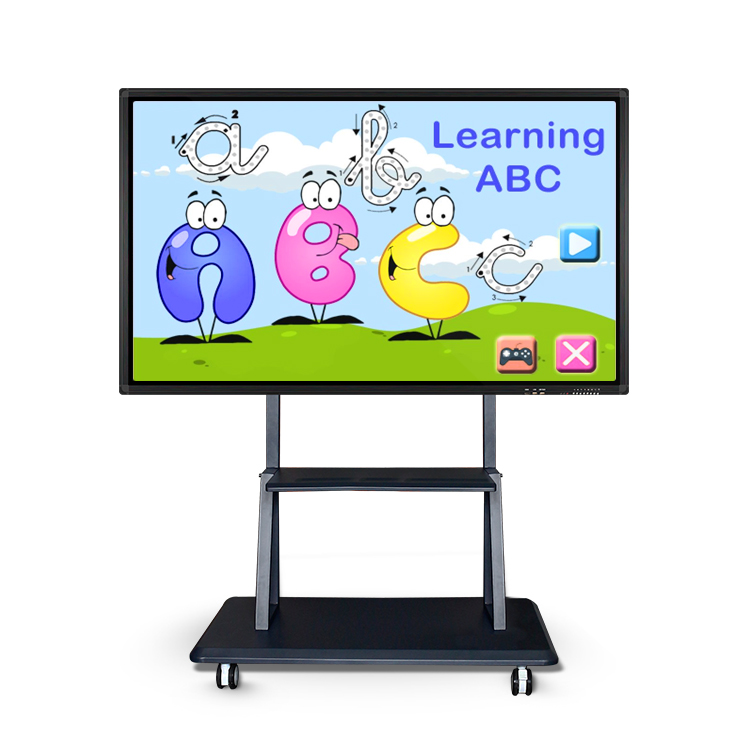 "55 ""65 inch school interactieve whiteboard touch all-in-one PC Win10/Android smart board voor kids school"