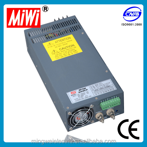 SCN 1000W 24V 40A Industry Led Driver ac to dc Switch Power Supply, transformer 24v waterproof