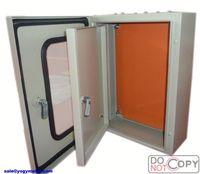 Outdoor metal water proof distribution box