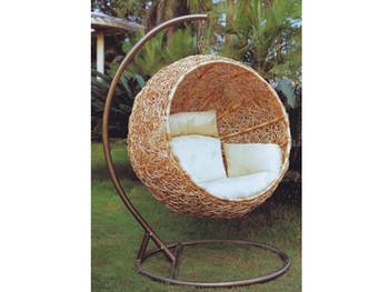 Single Seat Balcony Swing Chair Indoor Egg Patio Hanging Product On Alibaba