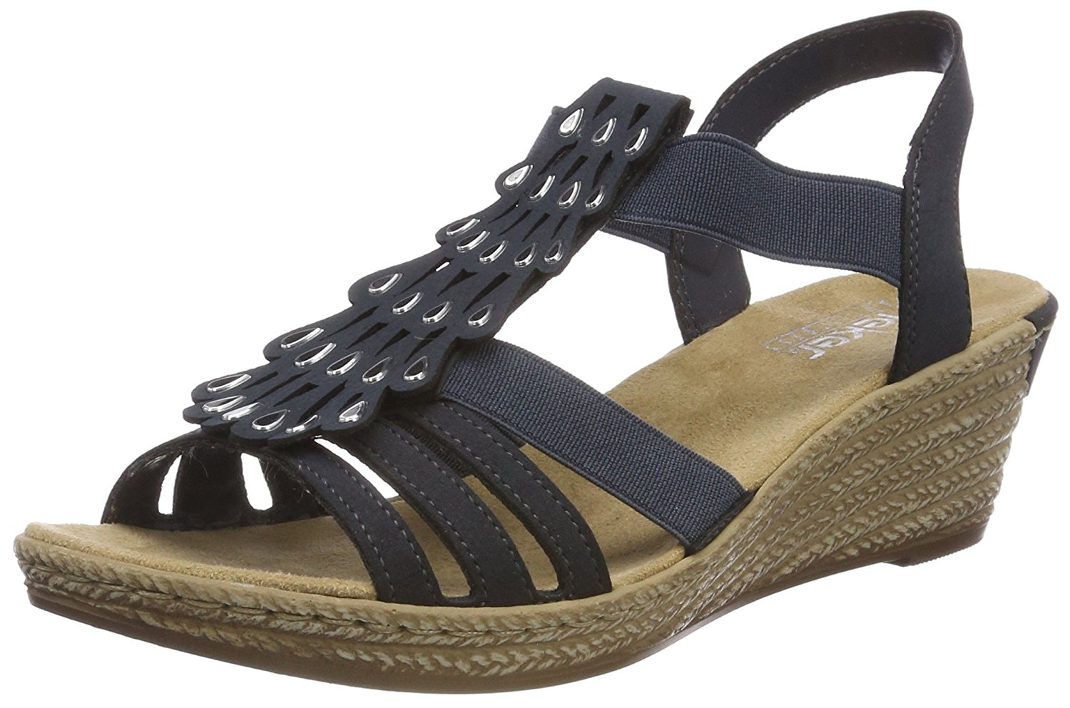 68c5853bb58598 Get Quotations · Rieker Women s Synthetic Sandals