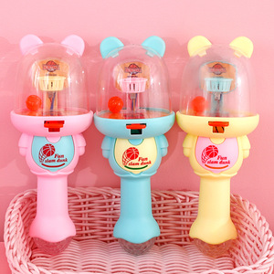 Creative Pressure Relief Fun Toy Sound-light Bear Finger Mini Shot Dunk Machine Toy Educational Game