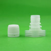 13mm liquid pouch plastic spout cap with easy tear ring