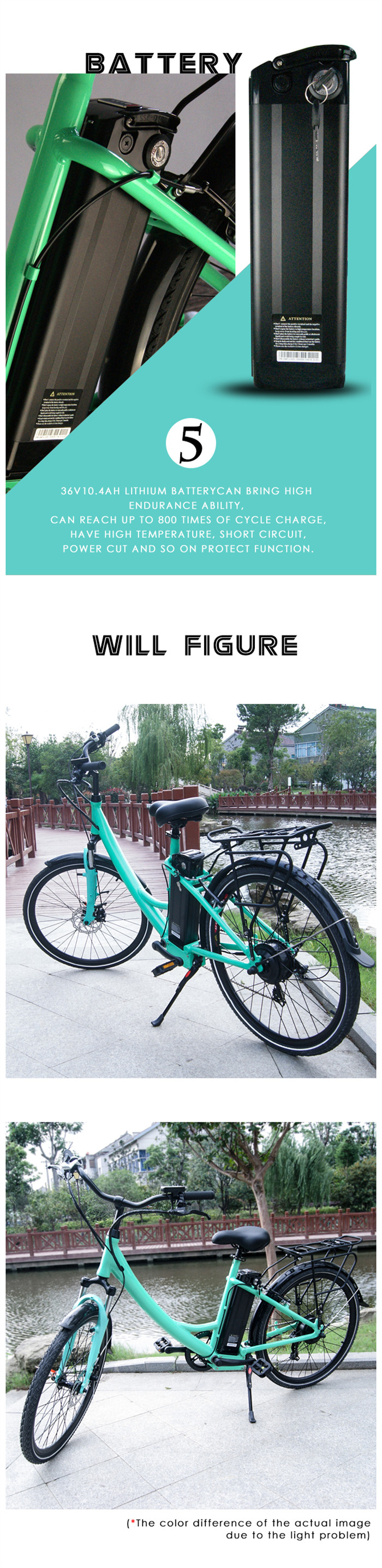 China high quality green cheap city electric bike bicycle, Classical City E Bike for sale