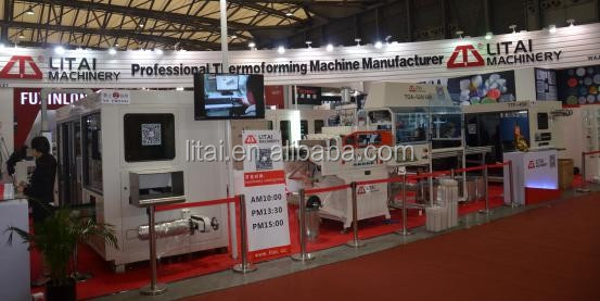 Full automatic PET food container making machine