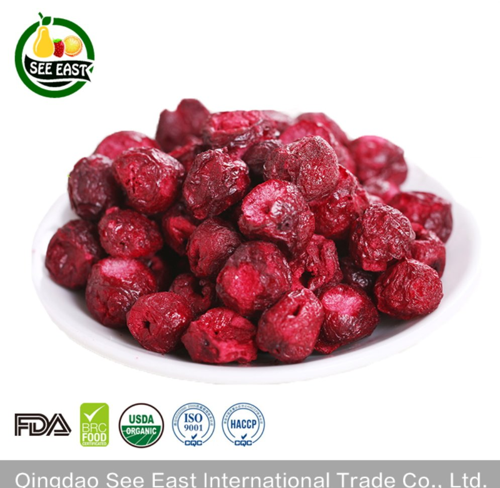 China Wholesale Freeze Dried Cherry Dried Cherry Fruit