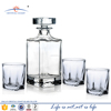 liquor whiskey glass decanter sets; shot glass whikey liquor gift set
