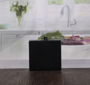 Square black 105ml unique perfume bottles