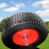 16 inch garden tool cart wheel 6.50-8 PU foam wheel