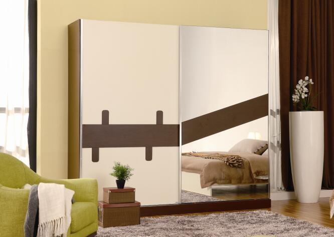 Doppio colore armadio design camera da letto mobili legno almarih