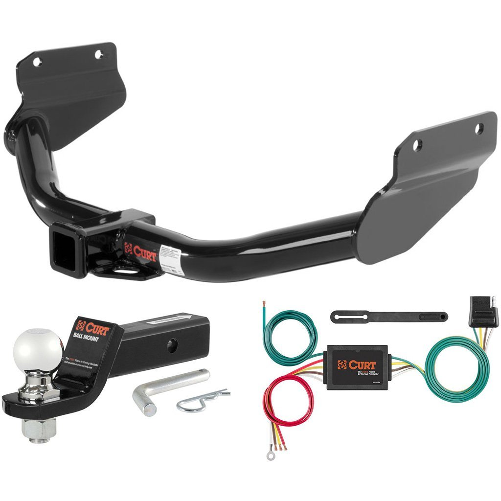 "CURT Class 3 Hitch Tow Package with 2-5/16"" Ball for 2011-2013 Dodge Durango"