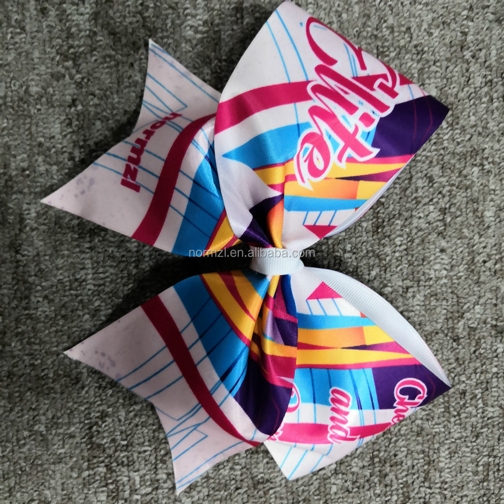 wholesale custom hair cheer bows for sale cheerleader