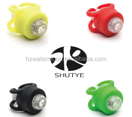 Chinese Manufacture Promotional cycling infront decorative bike led warning light for night riding