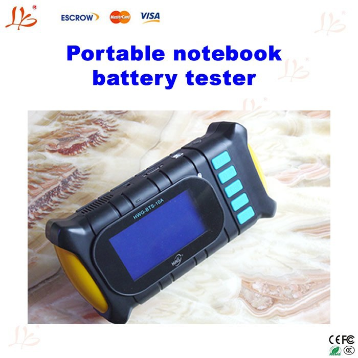 Portable notebook battery tester,portable laptop battery scanner with charge & discharge,small currents activation