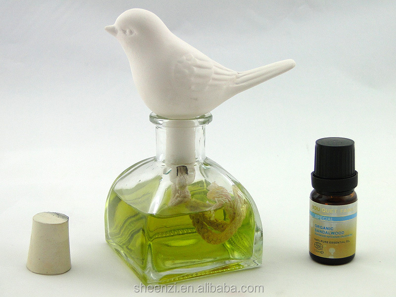Aroma Stone Diffuser ~ Bird aroma stone ceramic clay for fragrance oil
