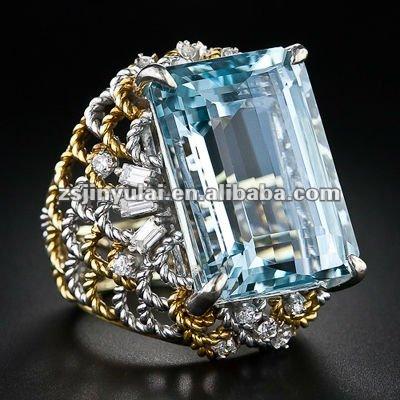 New Design Fashion Jewelry Of Late-20th Century Sky Blue Sapphire ...