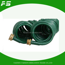 EVA Sprial Garden Hose With Brass Hose Connector For USA Market