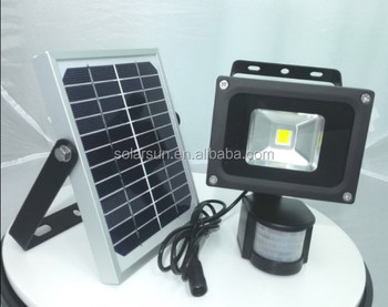 led projector 3w 9w high quality led solar powered flood lights supplier