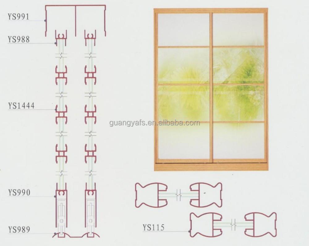 Aluminium Frame Sizes For Wardrobe Sliding Door Buy Extruded