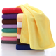 80%Polyester/20% Polyamide Premium Microfiber face cloth white washcloth luxury hotel expandable face towel