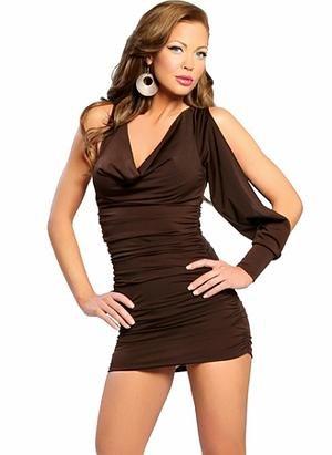 Club Lounge Wear Mini-Short-Little Dress - Buy Clubwear Mini Dress ...