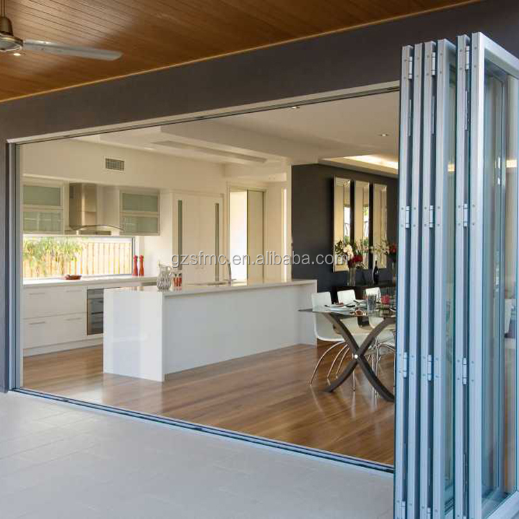Aluminium Bifold Bi Fold Sliding Patio Doors Manufacturer Buy