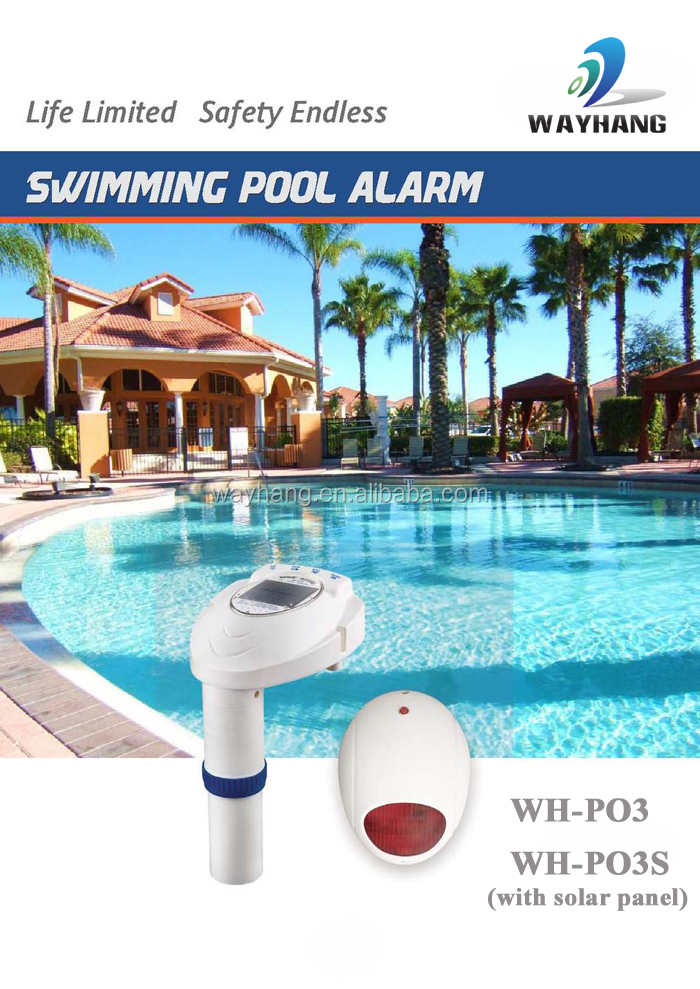 Solar Swimming Pool Alarm /Solar Pool Scout, View solar swimming pool  alarm, WAYHANG Product Details from Shenzhen Wayhang Technology Co., Ltd.  on ...
