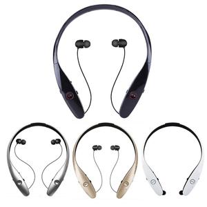 High quality hbs900 Wireless bluetooth headset portable neckband earphone  Stereo bluetooth headphone
