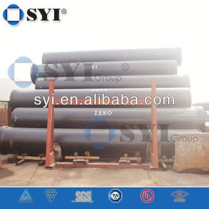 Ductile iron flanged pipe k9