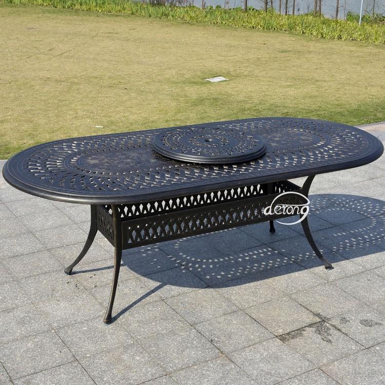 Aluminiumguss Einem Tisch 6 Stühle Dining Set Gartenmöbel Terrasse Ess  Gartenmöbel - Buy Aluminiumguss Möbel,Terrasse Esstisch Und Stühle,Einem  Tisch ...