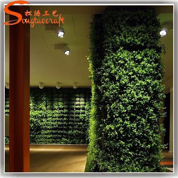 Cheap Wholesale Vertical Garden Fake Garden Plant Wall