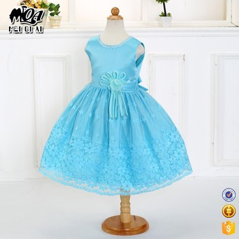e3ecb88c7510a Instock item hot sale baby girl designer frock party dress for 6 year old  LM130